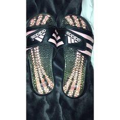 Adidas slides Adidas slides, worn twice Adidas Shoes