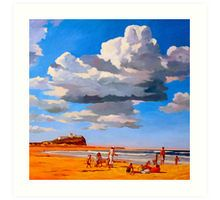 Nobby's Beach Art Print
