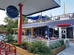 Grub Durham: A cool and hip diner located in a former gas station, Grub serves spun up diner fare at very reasonable prices. #nctriangledining #dinerfood #ncrestaurantreview #ncfood #ncrestaurant #nceats #durhamnc #durhamfood #durhamrestaurant #durhameats