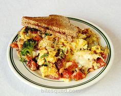 Out-Of-This-Earth Scramble from the Bad Waitress is so scrumptious, your taste buds will be in HEAVEN! Delivered by bitesquad.com #Minneapolis $9.50