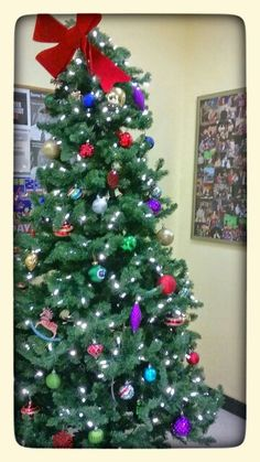 """This year we didn't put a tree up, but , for sure working on it for next year.  Our joy is still here because so many beautiful people decorated and glad that I was able to photograph so many   scenes""""!    Photos by   artfromerry"""