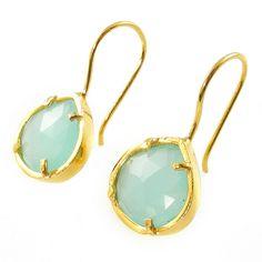 Mini French Wire Earrings | Peruvian Opal | Coralia Leets Jewelry