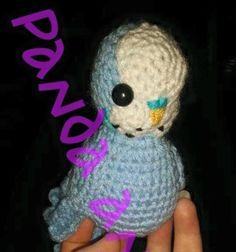 Crochet budgie pattern. by PandaAndFoxByKaysha on Etsy
