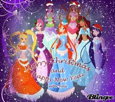winx christmas - Google Search(I don't celebrate christmast but I like this)