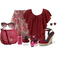 """""""Paisley Skirt"""" by staciegh on Polyvore"""