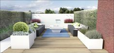 ECO Tuinarchitectengroep | 3D projecten | Lounge tuin Ninove