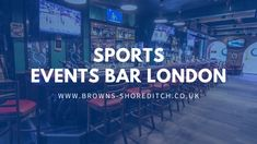 Are you looking for the best sports events bar London to watch live sports? Browns shoreditch can watch the best live sports events in London?#Sportseventsbarlondon #bar #london Stage Show, Pole Dancing, Dancer, Good Things, Events, London, Bar, Watch, Live