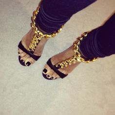 Damn.. Talk About Statement Shoes..