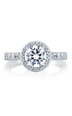 Shop A. Jaffe MES168-26 Engagement rings | Bailey Banks & Biddle