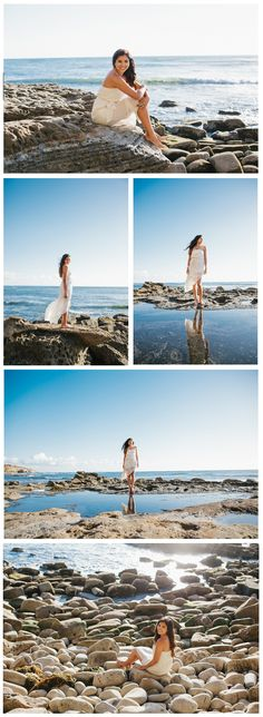 Sunset Cliffs in Ocean Beach Senior Session | San Diego Senior Portrait Photographer | Paige Nelson Photography
