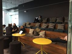 Bleachers seating @ Spotify NYC offices