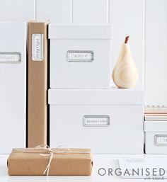 Kikki.K - An Organised Life: De-Clutter