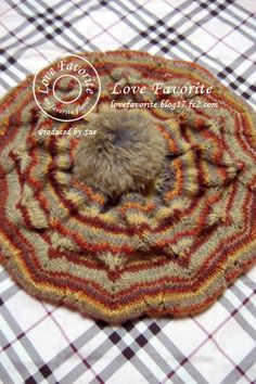 Knit , Knit beret ©Love Favorite