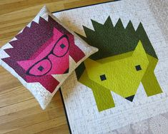Color, Creating and Quilting!: Hedgehogs are the Cutest!
