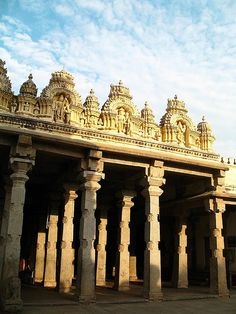 """her-indian-soul: """"Morning Light - Karnataka """" World Cities, Countries Of The World, Beautiful Sites, Beautiful Places, Mysore Palace, India Architecture, Amazing India, Hindu Temple, World Religions"""