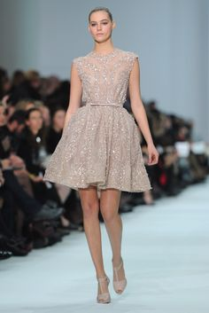 chic + sophisticated = i'd wear it now. elie saab, 2012.