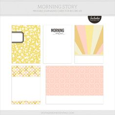 Morning Routine   Weekly Photo & Story Prompt + FREE Journaling Cards! — Turquoise Avenue