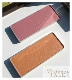 shu uemura Glow On Blush in Framboisier and Apricot from Chocolat Donna Fall 2012 Collection ~ Swatches, Photos, Review  Perilously Pale