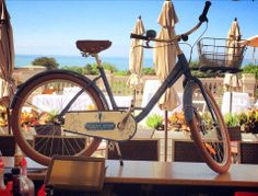Catch our Freedom Flyer all over town! Today we biked to the Ocean Terrace bar.