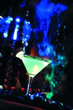 Neon Pink And Green Glow In The Dark Absolut Vodka Hmmmmm