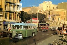 as I knew it. Use to go to pictures here & I remember the chocolate milk shakes were the best ever at the cafe. Glasgow Police, Glasgow Subway, Malta Bus, Malta History, Malta Gozo, Malta Island, Old Photos, Vintage Photos, Little Island