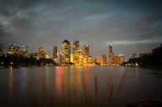 Brisbane Australia @ Kangaroo point by Aaron Jones, via 500px