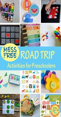 Kids Activities Blog has got you covered with the very best mess-free road trip activities on the web.