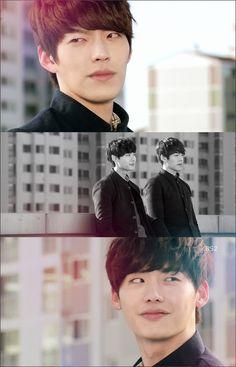 School 2013 - Kim Woo Bin / Lee Jong Suk (Ahh I miss this drama so much and I love their bromance ////) Lee Jong Suk Kim Woo Bin, Lee Jung Suk, So Ji Sub, Asian Actors, Korean Actors, Korean Dramas, Korean Actresses, Lee Min Ho, Kpop