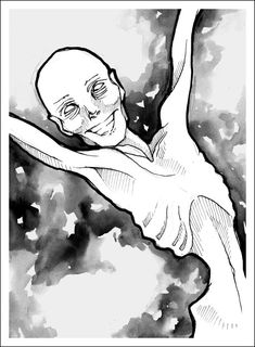 Stunning and painful art about the pains and lies of anorexia...