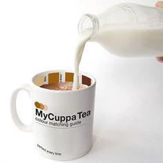 my cuppa tea...  very clever! Earl Gray anyone?