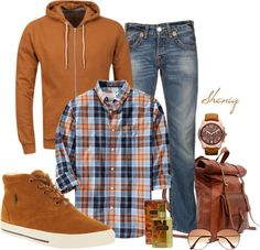 """Casual Menswear by Sheniq"" by sheniq on Polyvore"