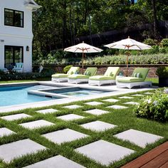 Mounting a Block or Paver Walkway – Outdoor Patio Decor Outdoor Patio Pavers, Paver Walkway, Backyard Patio, Backyard Ideas, Patio Ideas, Concrete Paver Patio, Pavers Patio, Pergola Ideas, Decking