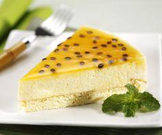 Pasión mousse de frutas con gelatina