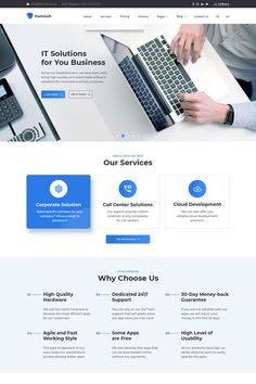 Template ID: - - A professional team of developers and designers worked on creating a template. The template is ideally suited to your business. Best Ui Design, Free Web Design, Design Ios, Flat Design, Professional Web Design, Professional Website, Ui Design Mobile, Business Website Templates, Template Web