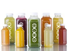 Kimberly Snyder's new Glow BIO Cleanse. The 100 percent organic, cold-pressed juices