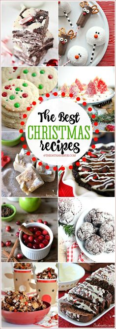The Best Christmas Recipes EVER! PIN IT NOW and make them later!