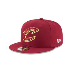CLEVELAND CAVALIERS PLAYOFF SIDE PATCH 9FIFTY SNAPBACK Nba Playoffs 70c6867838b