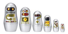 Robot Matryoshkas....awesome!