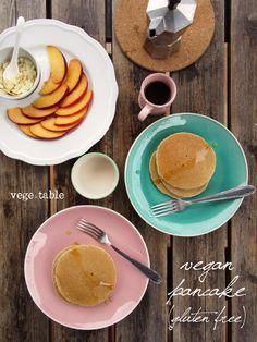 Pancake con Farina di Riso e Grano Saraceno