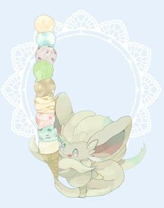 Minccino's evolve forms ♡ I give good credit to whoever made this