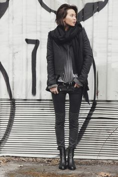 black and grey. Just perfect!