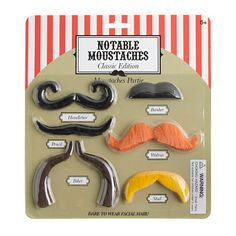 Kids' npw™ notable moustaches kit - books & toys - Boy's new arrivals - J.Crew