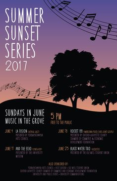 Annual Summer Sunset Series! Free, Family-Friendly, and Fun. Every Sunday in June at 5pm.