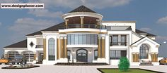 Beautiful House Plans, Beautiful Homes, Modern Bungalow House, Construction Services, Car Garage, Modern Architecture, House Design, How To Plan, Mansions