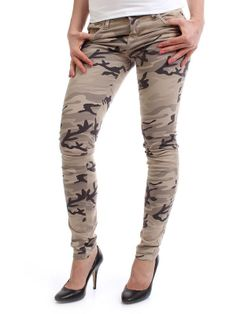 LA Cat Deluxe Skinny Pants - camouflage - NAPO Shop - der offizielle Nastrovje Potsdam Shop