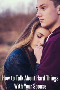 How To Talk About Hard Things With Your Spouse {We Want Connection.com} #marriage #advice #communication #love