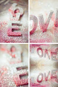glitter letters!!!