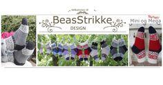 Beas Strikke Design – Tova Tøfler Alpacas, Ravelry, Knitting, Mini, Design, Threading, Tricot, Breien, Stricken