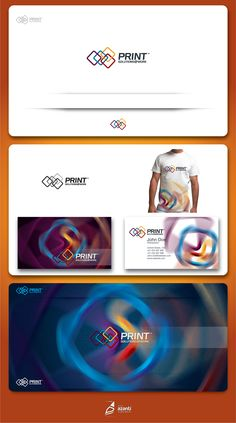 Logo Deign - Print Solutions @ Work, sells and services Multifunction Devices (Photocopiers and Printers) to Business, Government and Schools.