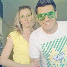 Vanessa e Flávio são grandes representantes de como está o coração do brasileiro hoje: ela toda preocupada, enquanto ele está confiante
